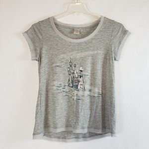 LC Lauren Conrad Disney | Gray Cinderella Top